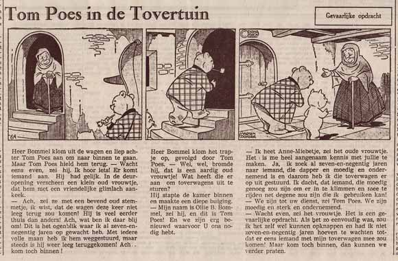 Tom Poes in de Tovertuin