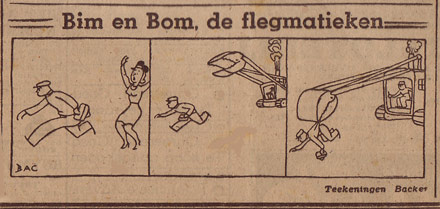 Bim en Bom, by Henk Backer (1942)