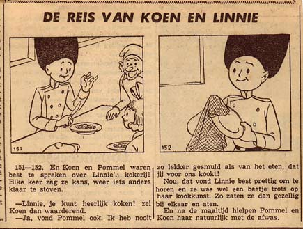 Koen en Linnie, by Henk Backer