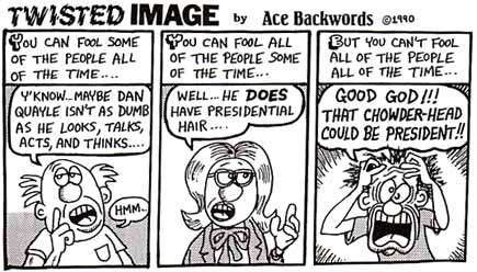 Twisted Image, by Ace Backwords