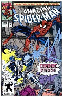 Amazing Spider-Man cover, by Mark Bagley