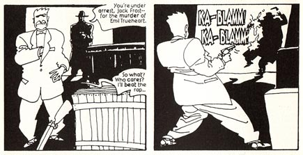 Dick Tracy, art by Kyle Baker (1990)