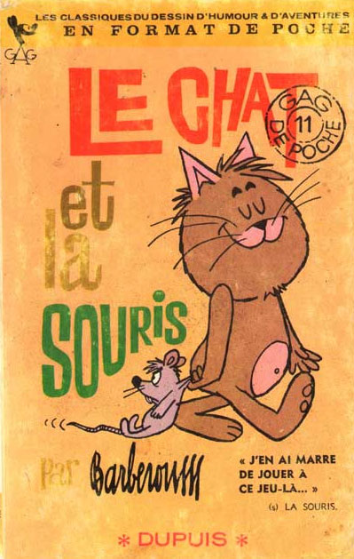 Le Chat et la Souris by Barberousse