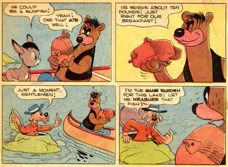 Barney Bear by Carl Barks