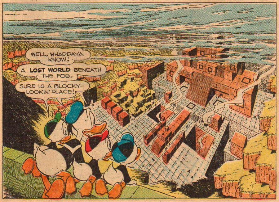 Lost in the Andes, by Carl Barks