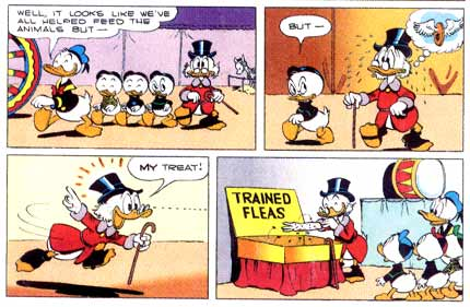 Uncle Scrooge, by Carl Barks