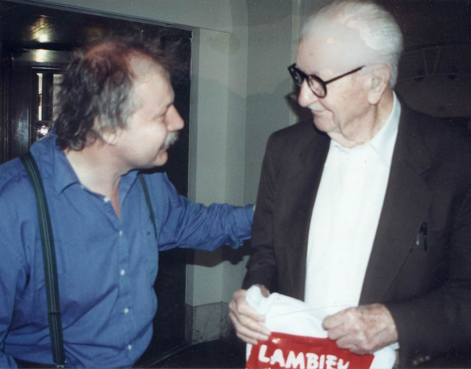 Kees Kousemaker and Carl Barks