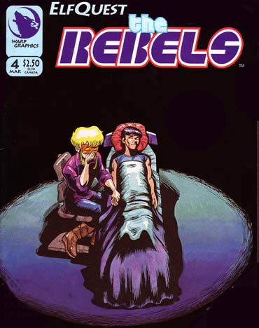 Elfquest the Rebels, by Delfin Barral