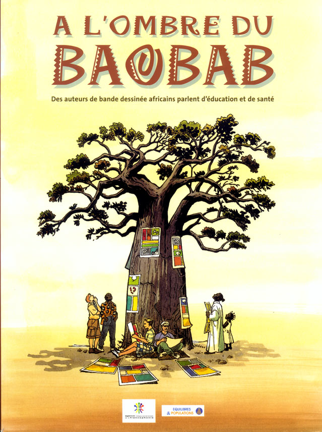 Cover for A l'Ombre du Baobab, by Barly Baruti