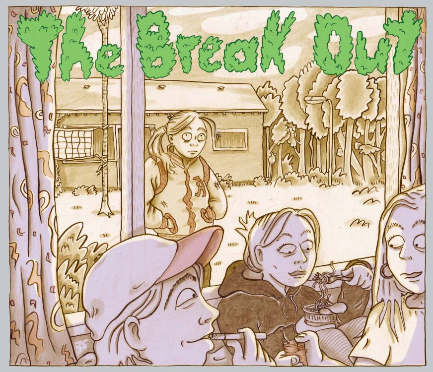 The Break Out by Anna Bas Backer