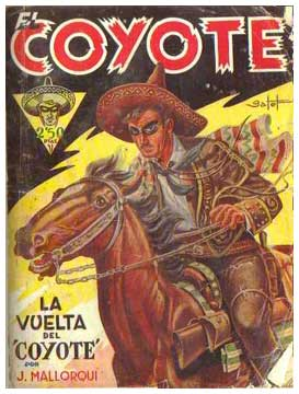 El Coyote, by Francisco Batet