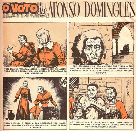 O Voto de Afonso Domingues, by Jose Batista