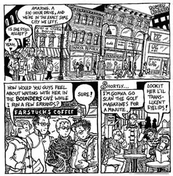 Dykes To Watch Out For, by Alison Bechdel