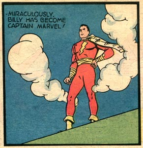 Captain Marvel, by Charles Clarence Beck