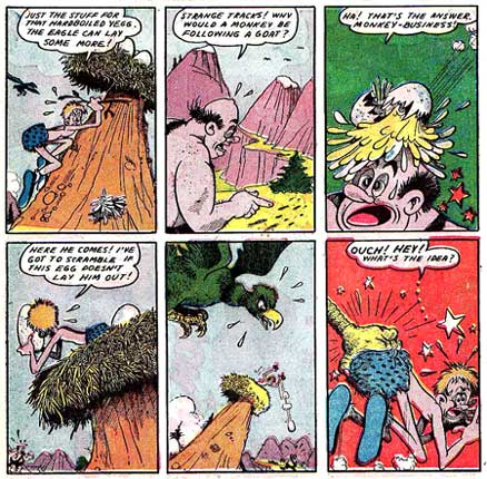 Prehistoric Pete (Red Seal Comics #14, 1945)