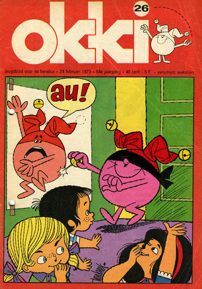 Okki cover by Ton Beek, 1973