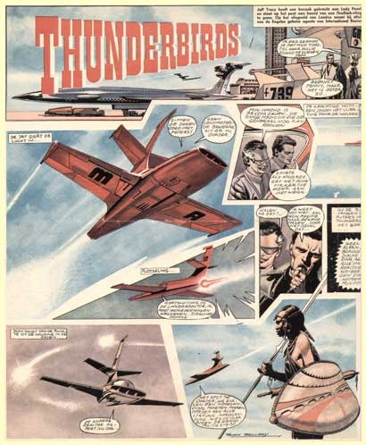 Thunderbirds, by Frank Bellamy