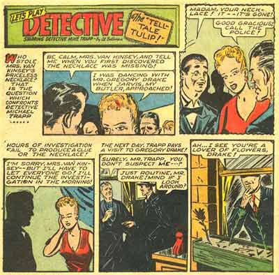 Let's Play Detective, by Allen Bellman