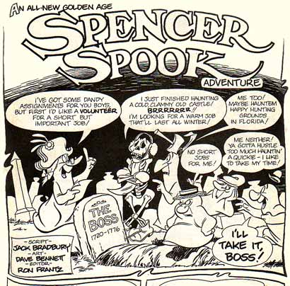 Spencer Spook, by Dave Bennett
