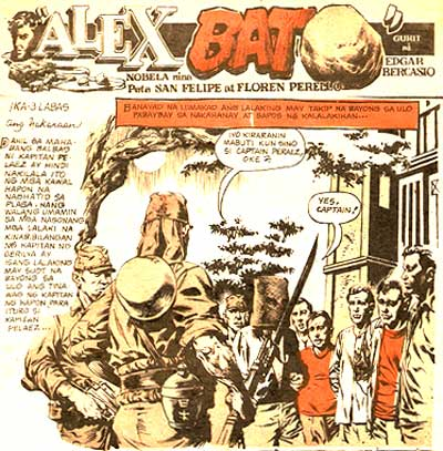 Alex Bat by Edgar Bercasio