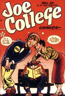 Joe College cover, by David Berg