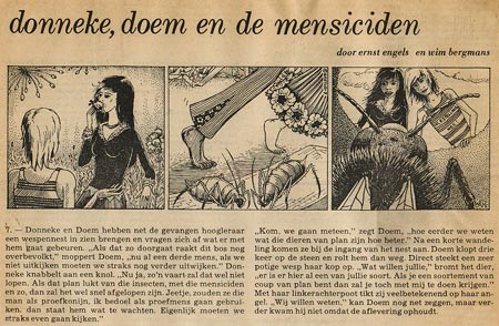 Donneke, Doem en de Mensiciden by Wim Bergmans