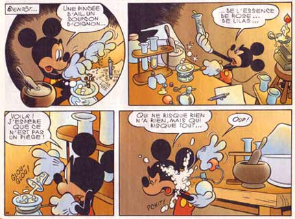 from Le Journal de Mickey, by Ramon Bernado