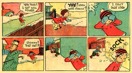 Herbie, from the strip Smitty, by Walter Berndt (1945)