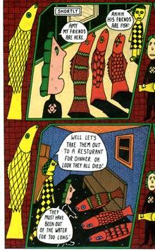 comic art by Mark Beyer