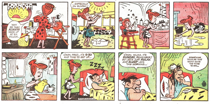 Flintstones by Dick Bickenbach