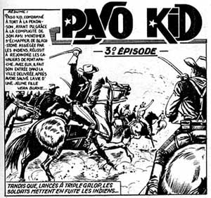 Paso Kid, by Franco Bignotti