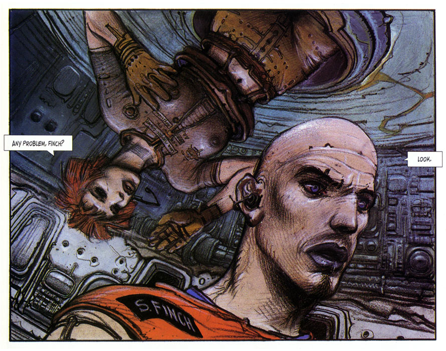 The Dormant Beast, by Enki Bilal