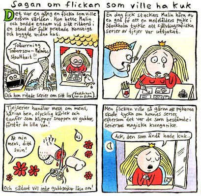from Bild og Bubbla, by Malin Biller