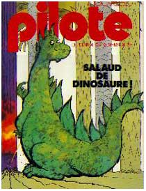 Cover for Pilote, by Daniel Billon