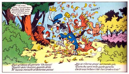 Inferno di Topolino, by Angelo Bioletto