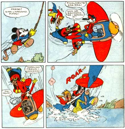 Topolino by Angelo Bioletto