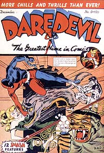 Daredevil cover by Charles Biro (1941)