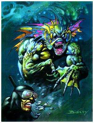comic art by Simon Bisley