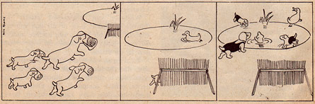 comic strip by Nic. Blans (Jeugdkampioen, 1950)