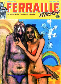 Cover Ferraille Illustré, by Blutch