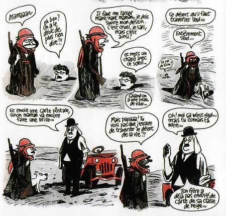 Petit Christian by Blutch