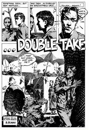 Double Take, by Brent Boates (from Fog City)