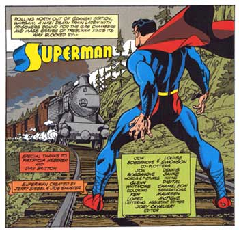 Superman, by Jon Bogdanove