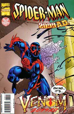 Spiderman 2099 AD, by David Boller