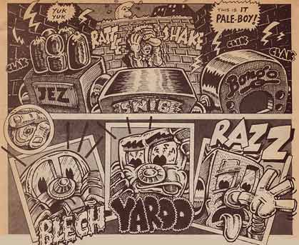 Radio Comix, by Bonk (1978)