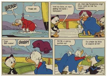 Uncle Scrooge, by Giorgio Bordini
