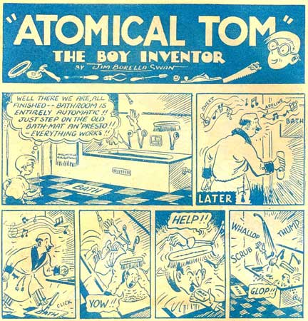 Atomical Tom by Jim Borella Swan