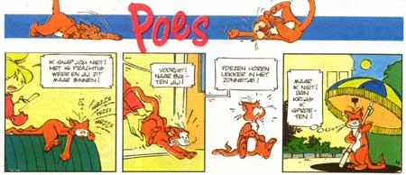 Poes, by Marcel Bosma