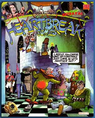 cover from Heartbreak Comics, by David Boswell