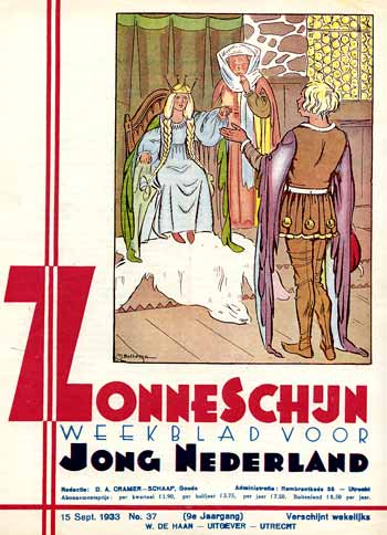 comic art by Tjeerd Bottema (1933)
